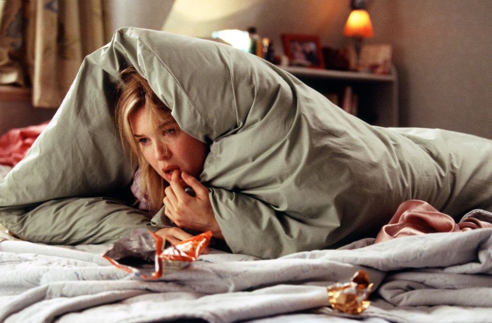 FILM  ' Bridget Jones: The Edge of Reason '  (2004) Picture shows :  RENEE ZELLWEGER